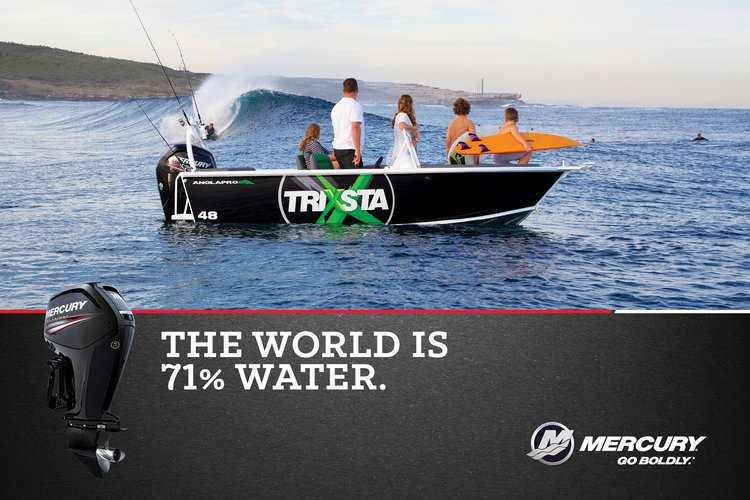 Mercury Marine launches new Go Boldly global brand campaign in  Australia and New Zealand