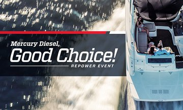 Mercury Diesel, Good Choice! Repower Event