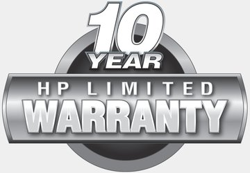 10-Year HP Warranty