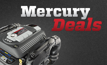 Kampanjpriser på Mercurymotorer