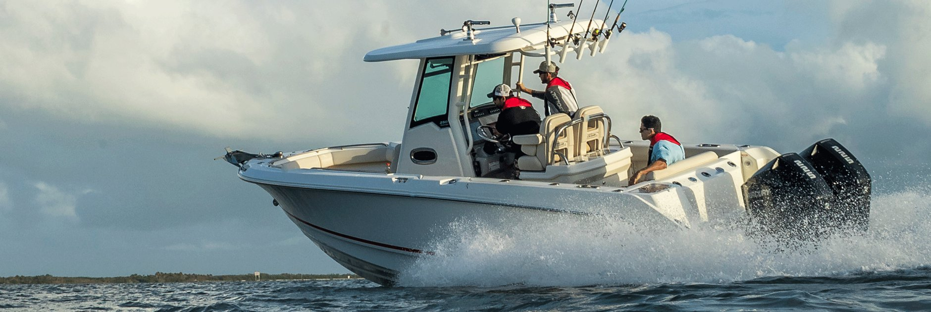 The all-new V-6 FourStroke.