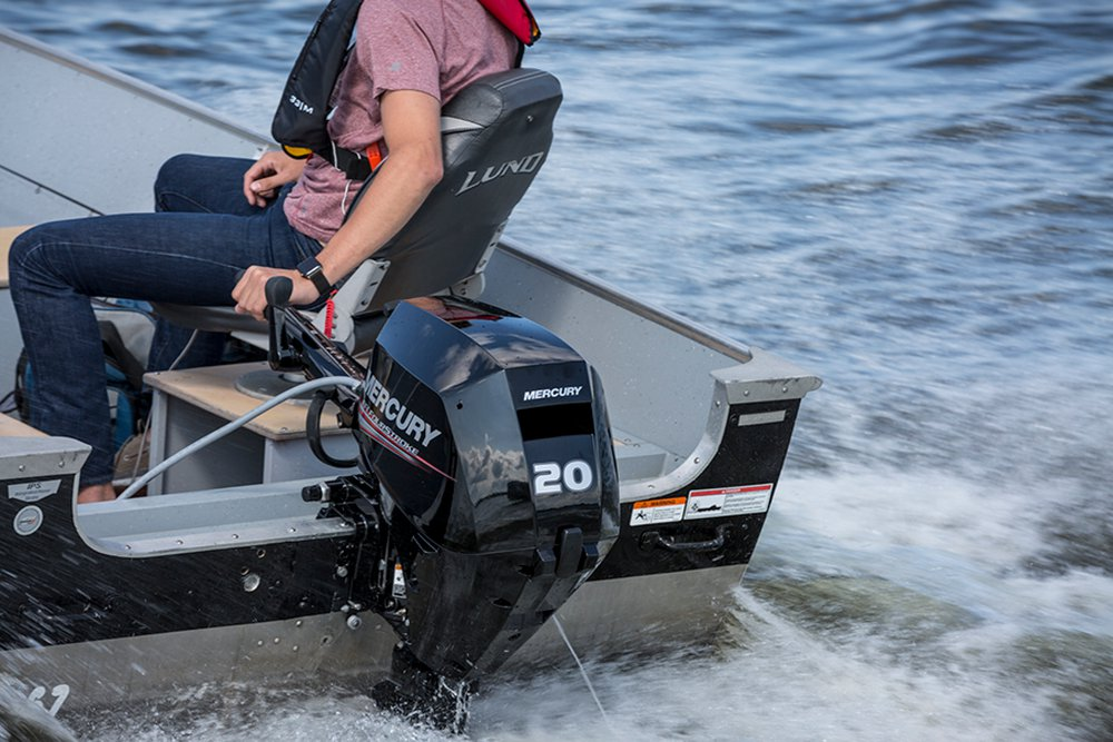 Mercury Marine Introduces All New 15 20hp Efi Fourstroke