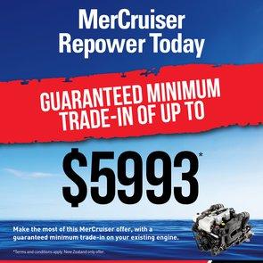 MerCruiser Repower Promotion