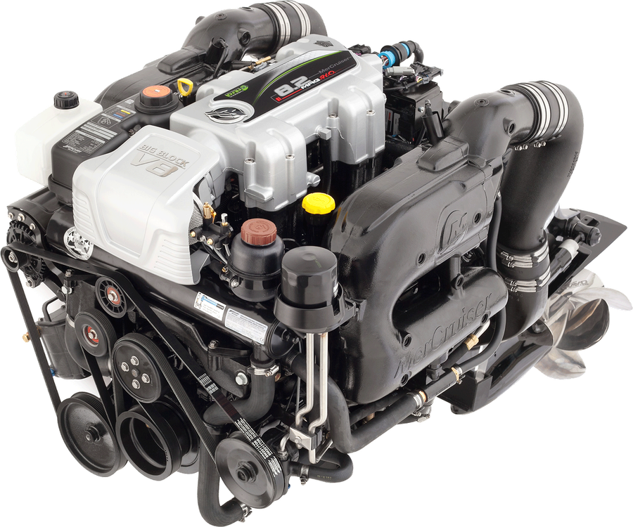 Fuel Injected 350 Mercruiser Engine Diagram - Block And Schematic ...