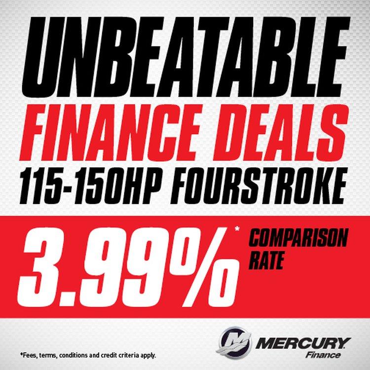 Unbeatable 3.99% Mercury Finance Deals