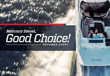 Mercury Diesel, Good Choice! Repower Event