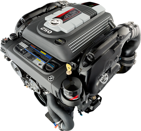 2019 Mercury Mercruiser 4.5L 250hp sterndrive inboard outboard engine block
