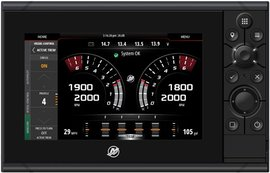 Mercury Marine® introduces next-gen VesselView 703 at 2017 Genoa Boat Show